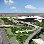 Hoàn thiện thiết kế hoa sen cách điệu cho sân bay Long Thành