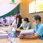 Lễ ký kết hợp đồng chuyển nhượng quyền sử dụng đất khu dân cư xã An Viễn (19/08/2020)