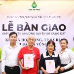 Vạn An Phát tổ chức lễ bàn giao giấy chứng nhận quyền sử dụng đất (04/09/2020)